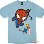 Marvel-Kawaii-Swinging-Spidey-Shirt