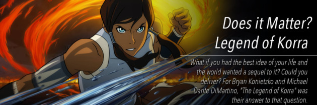 Does It Matter: Legend of Korra